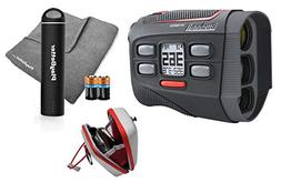Bushnell 2018 Hybrid Golf Laser/GPS Rangefinder Bundle | Pin