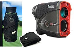 Bushnell Pro X2 Golf Laser Rangefinder | Cart Mount Bundle |