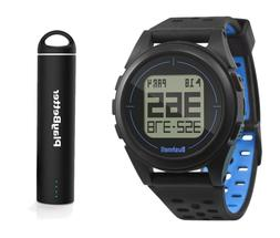 Bushnell ION 2 Golf GPS Watch Bundle | with PlayBetter Porta