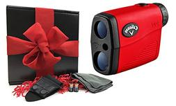 Callaway 200  Golf Rangefinder Gift Box Bundle | Includes Co