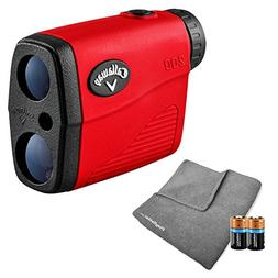 Callaway 200  Golf Rangefinder Bundle | Includes Ultra-Compa