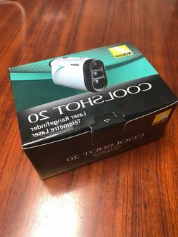 Nikon Coolshot 20 Golf Laser Rangefinder Rainproof, Lightwei