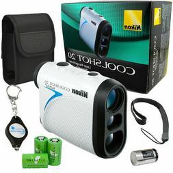 Nikon Coolshot 20 Golf Rangefinder Rainproof 16200 +3 Batter