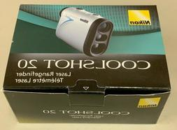 Nikon COOLSHOT 20 LCS20 Portable Golf Laser Rangefinder 1620