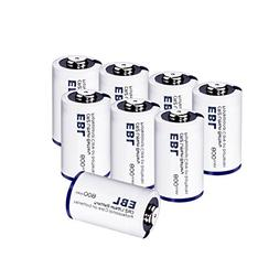 EBL CR2 Batteries 3V 800mAh DL-CR2 Lithium Photo Battery wit