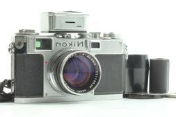 Nikon S2 Rangefinder Camera Body Nikkor SC 5cm 50mm f/1.4 L