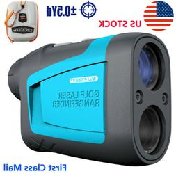 FAST 600M 6X LCD Telescope Laser Range Finder Golf Hunting D