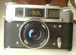 FED - 4 USSR Soviet Union Russian 35 mm RF Film camera