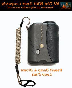 Fishing Hunting Lanyard Desert Camo & Brown GPS Rangefinder