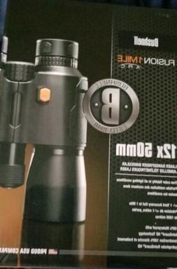 Bushnell fusion 1 Mile 12x50 Binocular laser  rangefinder 20