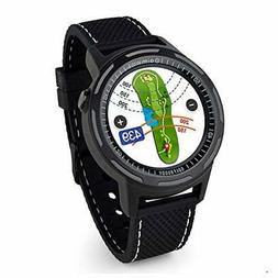 Golf Buddy Aim W10 GPS Watch aim W10 Golf GPS Watch, Black,