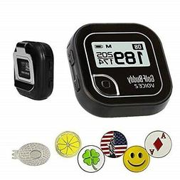golf buddy voice 2 golf gps/rangefinder bundle with 5 ball m