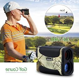 Eyoyo Golf Range Finder Hunting Distance Meter Speed Measure