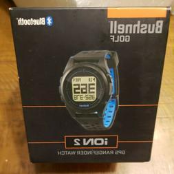 Bushnell Golf Ion 2 GPS Rangefinder Watch Black/Blue