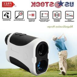 440Yards GOLF LASER RANGE FINDER W/FLAG-LOCK &VIBRATION 6X M