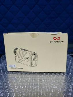 WOSPORTS Golf Rangefinder 650 Yards Laser Distance Finder wi