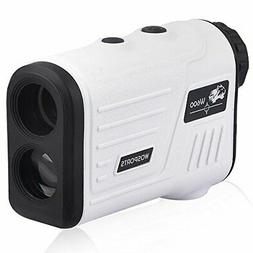 Wosports Golf Rangefinder, Laser Range Finder with Slope, Go