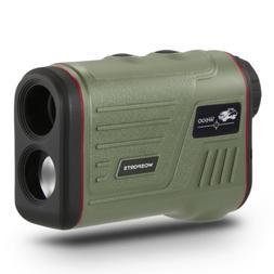 WOSPORTS Golf Rangefinder, Laser Range Finder with Slope, Go