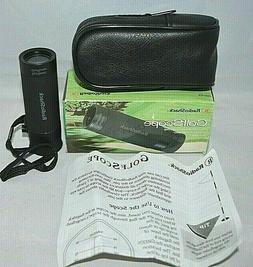 RADIO SHACK GOLF SCOPE RANGE FINDER 63-980  WITH CASE NEW OP