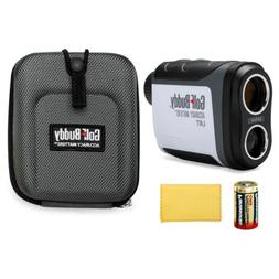 GolfBuddy LR7 Laser Rangefinder with Replacement CR2 Battery