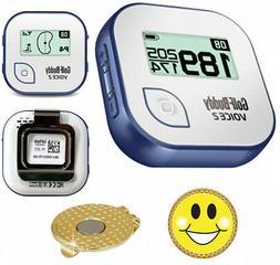 GolfBuddy Voice 2 Golf GPS/Rangefinder Bundle With Magnetic