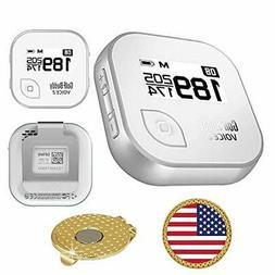 AMBA7 GolfBuddy Voice 2 Golf GPS/Rangefinder Bundle with Mag