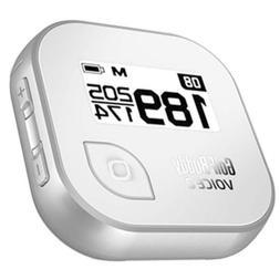 GolfBuddy Voice 2 Golf GPS/Rangefinder, Silver