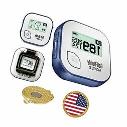 GolfBuddy Voice 2 Golf GPS/Rangefinder Bundle With Magnetic