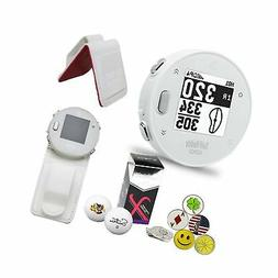 GolfBuddy Voice X GPS/Rangefinder Bundle with Belt Clip, 5 B
