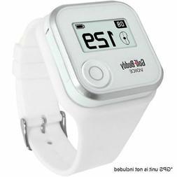 GolfBuddy GPS VOICE2 Rangefinder Wristband  - White
