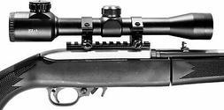 Hunting 4x32 scope for ruger 10/22 rifle optics rangefinder