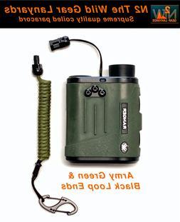 Hunting Fishing Lanyard Army Green & Black Rangefinder GPS B