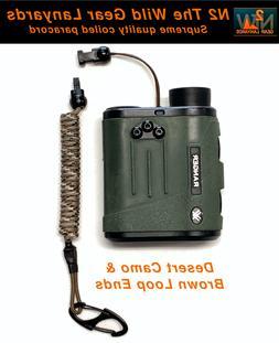 Hunting Fishing Lanyard Desert Camo & Brown Rangefinder GPS