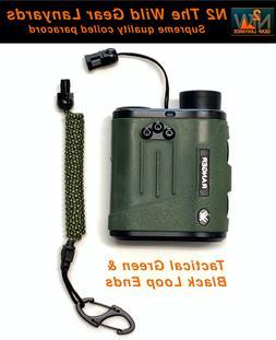 Hunting Fishing Lanyard Tactical Green & Black binocular Ran
