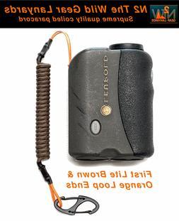 Hunting Lanyard First Lite Brown & Orange GPS Rangefinder bi