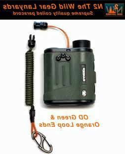 Hunting Lanyard O.D. Green & Orange Rangefinder GPS Archery