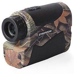 Wosports Hunting Range Finder, 650 Yards Archery Laser Range