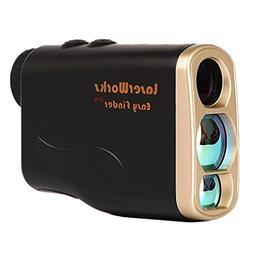 LaserWorks Hunting Rangefinder Golf Laser Range Finder 1000
