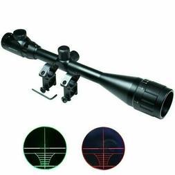 6-24x50 Hunting Rifle Scope Mil-dot illuminated Snipe Scope