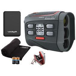Bushnell Hybrid Golf Laser GPS/Rangefinder   +Microfiber Clo