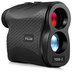 INLIFE Rangefinders Laser 656 Yard Distance Meter 6X Monocul