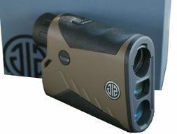 Sig Sauer KILO 1000 5x20mm Digital Laser Rangefinder, FDE -