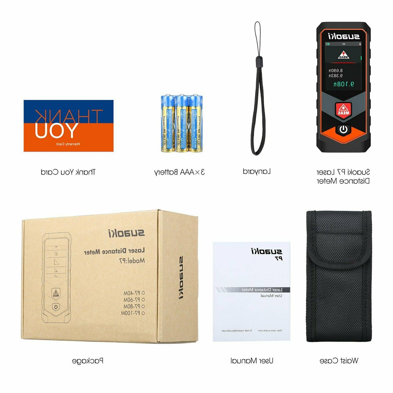 100M Laser Meter IP64 Screen Bluetooth
