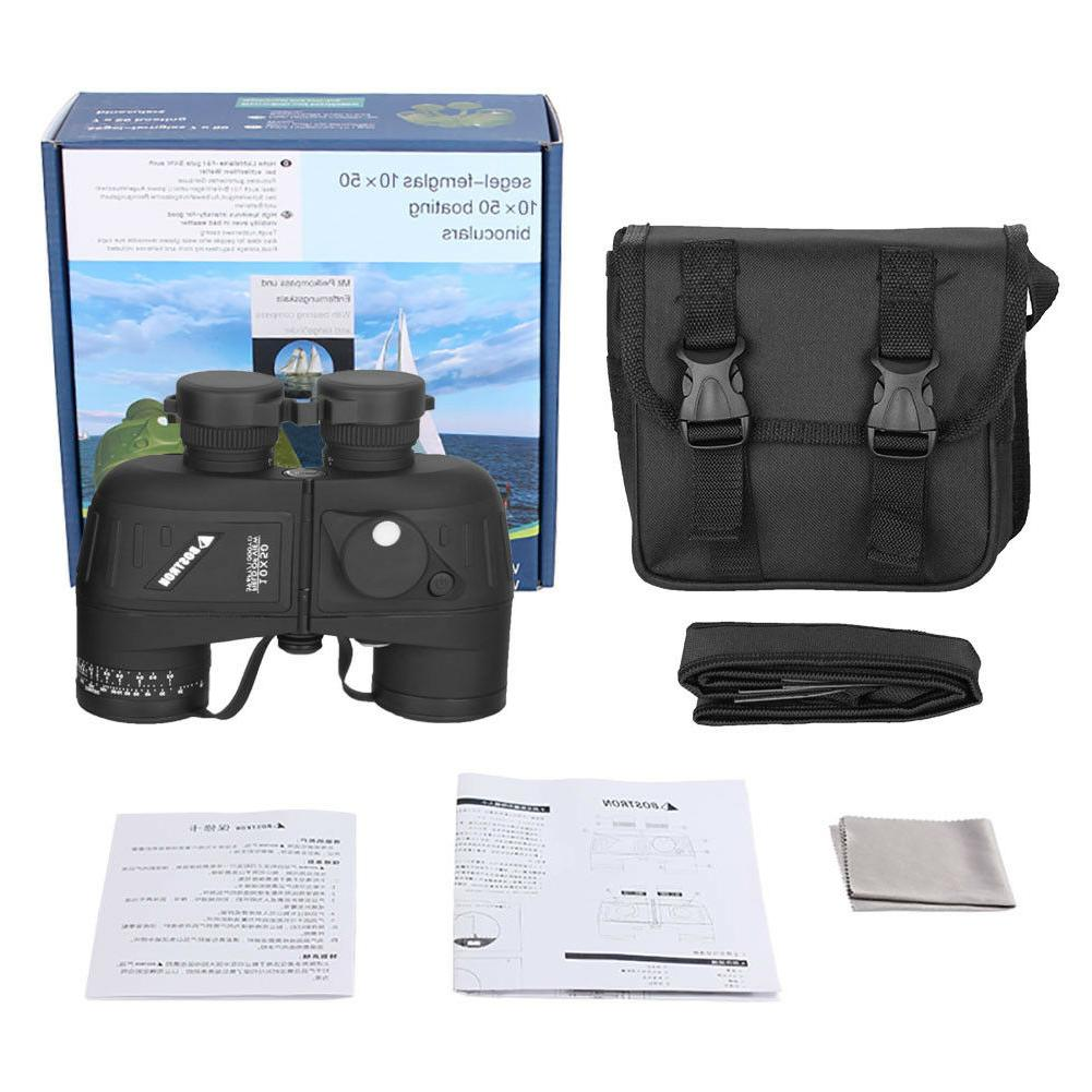 10X50 Binoculars For BAK4 Rangefinder Compass