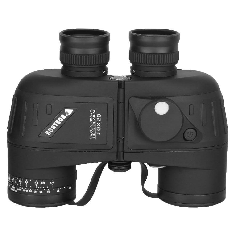 10X50 Binoculars For Stargazing BAK4 Rangefinder Compass
