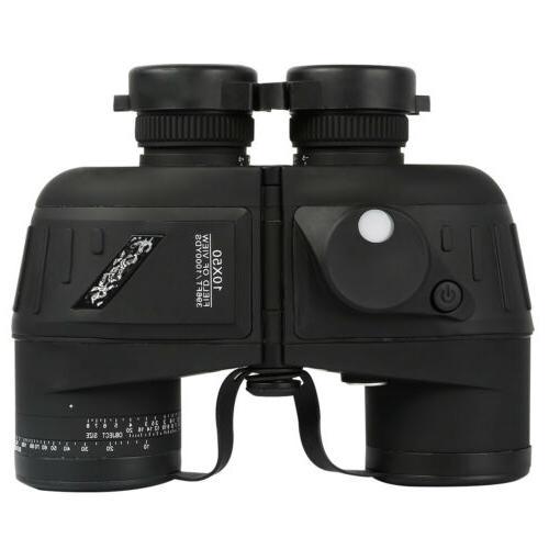 10X50 Vision Rangefinder Compass BAK4 Prism