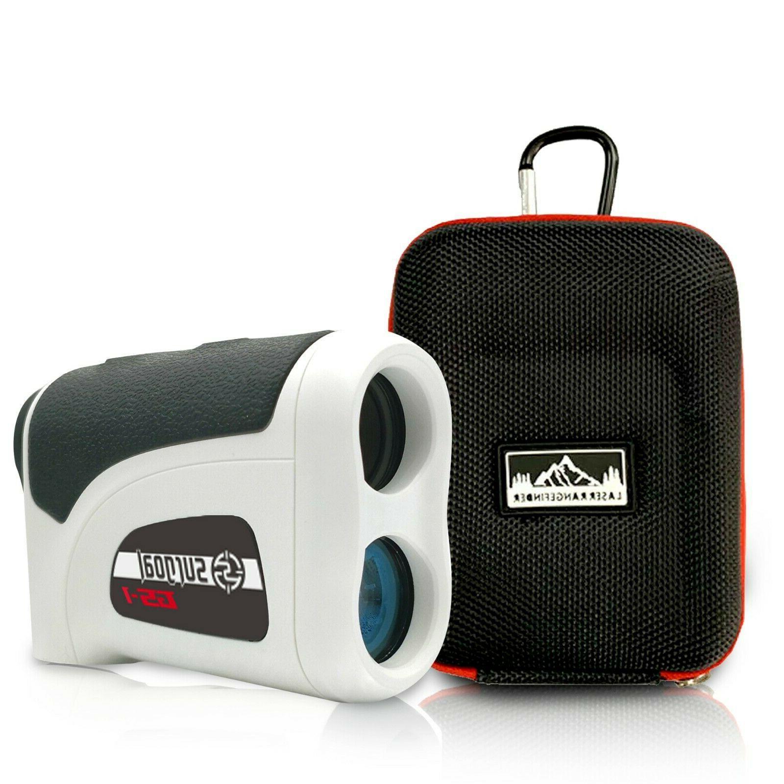 1200yd 6x mag laser golf range finder