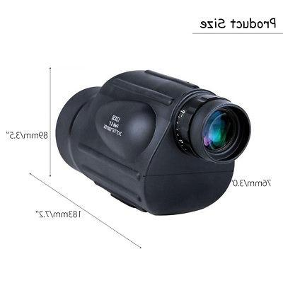 13x50 HD Scope Monocular Measurable Waterproof