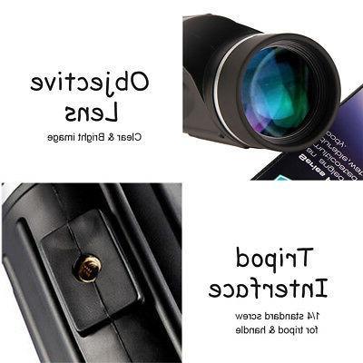 13x50 HD Rangefinder Spotting Scope Waterproof US