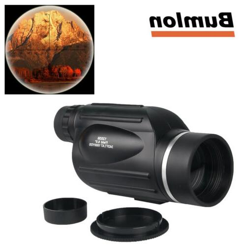 13x50 HD Rangefinder Spotting Scope Monoculars Telescope wit